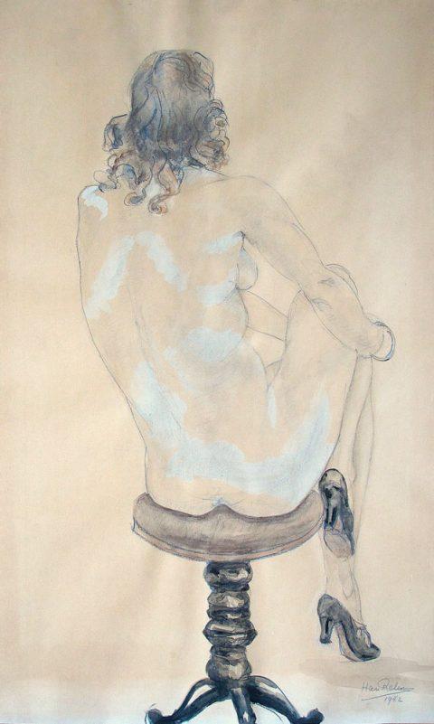 1949, aquarel, 30 – 40 cm
