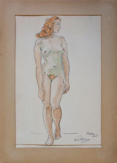 1948, aquarel, 22 – 33 cm