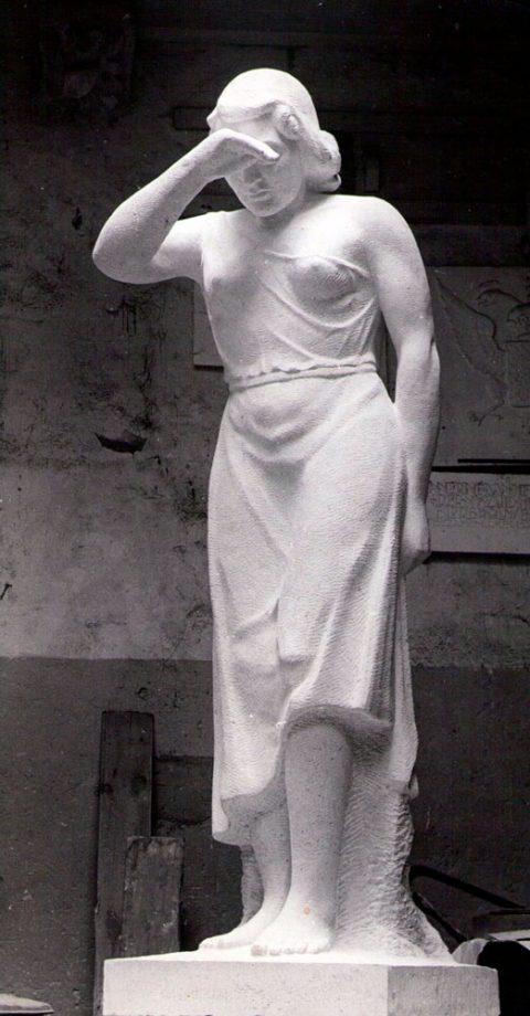 Oorlogs monument, steen, Zwarte Waal
