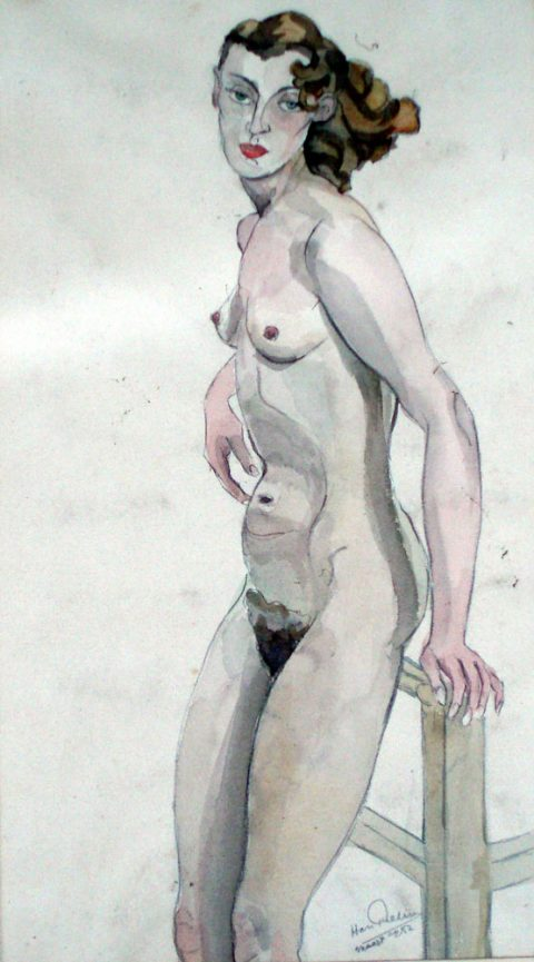 1952, aquarel, 25 – 45 cm