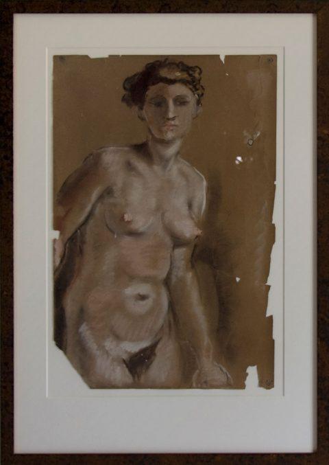 Naakt model, 1955, 47 – 33 cm