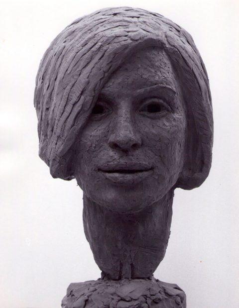 Meisjes portret, brons, 1968