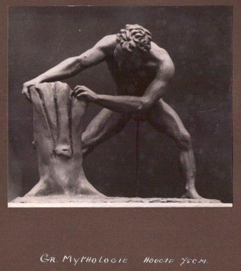 Griekse mythologie, brons, Fa. De Keijzer, 75 cm