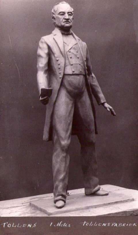 Tollens, gips, Tollens fabrieken, 100 cm, 1940-1950